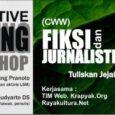 Bagaimana menulis kreatif? Pesantren yang sebenarnya memiliki potensi yang besar, dapat memunculkan penulis-penulis yang ikut mewarnai sastra Indonesia.