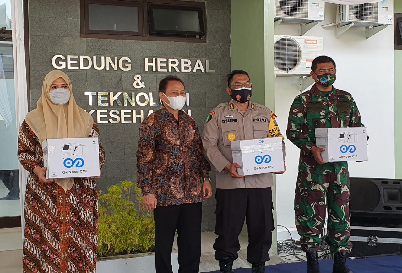 GeNose C19 Mulai Didistribusi, Pondok Pesantren Krapyak Yayasan Ali Maksum Lembaga Pendidikan Pertama yang Menerima GeNose C19